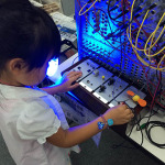 「電気でオンガクする」ジュニアワークショップ in TFOM2016
